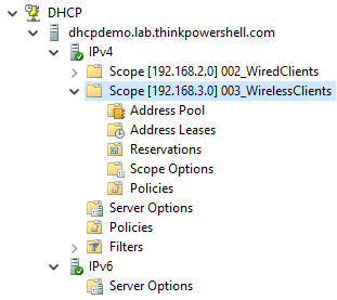 Configuring Windows DHCP, Part 2: Creating DHCP Scopes
